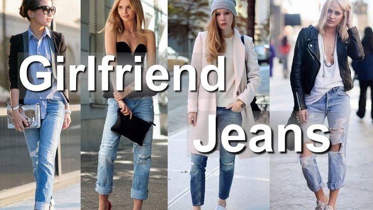 Womens Girlfriend Jeans - Fashion Lookbook