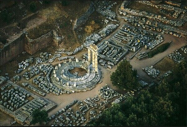 Ruins of Thebes - Greece - 338 B/C