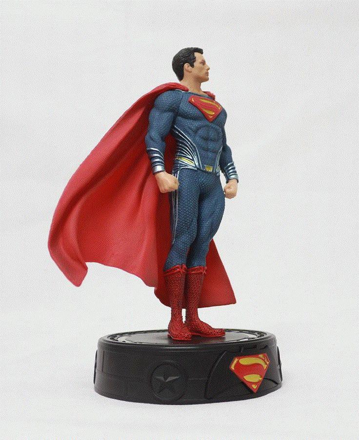 Бэтмен против Супермена на заре юстиции супермену со светодиодной подсветкой ПВХ Рисунок Коллекционная модель игрушки 23 смкупить в магазине Pekkasland Figures & Stuffed Dolls CenterнаAliExpress