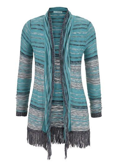 cardigan with long sleeves and fray hem (original price, $34) available at #Maurices