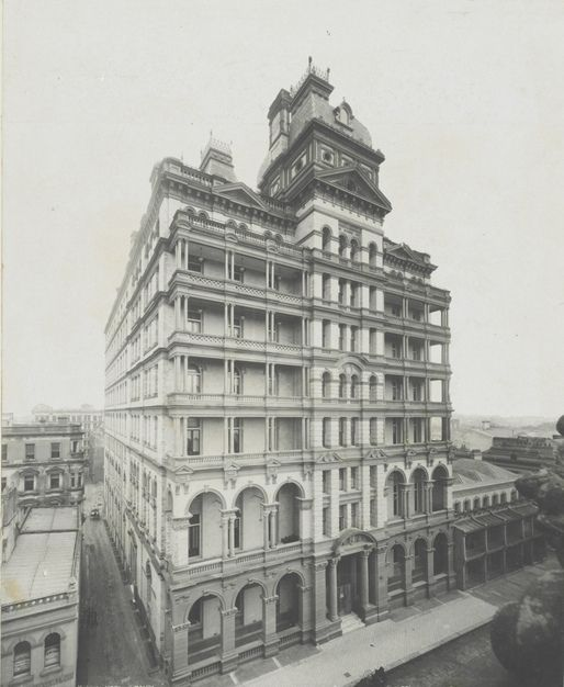 Hotel Australia, Sydney, 1903 / photographer Kerry & Co. by State Library of New South Wales collection, via Flickr