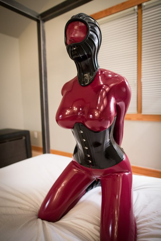 Latex bondage domination free