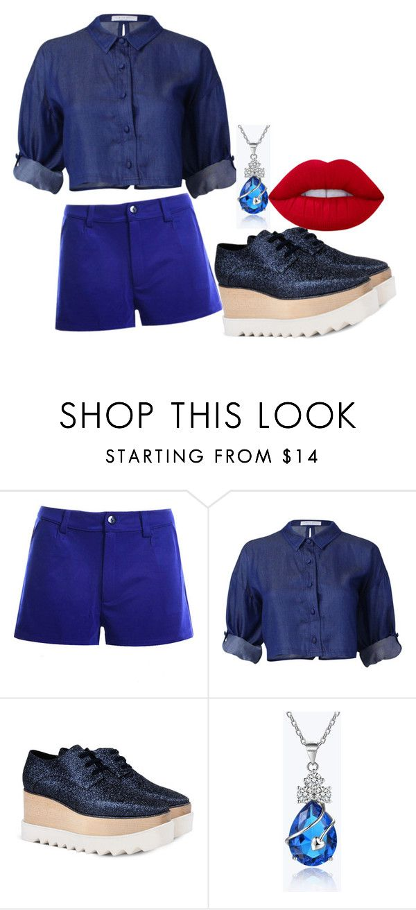"""ari"" by jhonny-erick on Polyvore featuring STELLA McCARTNEY and Lime Crime"
