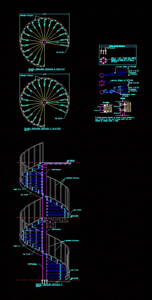 25 best ideas about escalera caracol on pinterest - Escalera caracol medidas ...