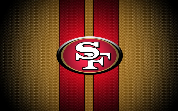 Cool San Francisco 49ers Striped NFL Wallpaper NFL