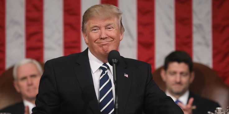 Top 10 Did-He-Really-Just-Say-That Moments from President Donald Trump's Address