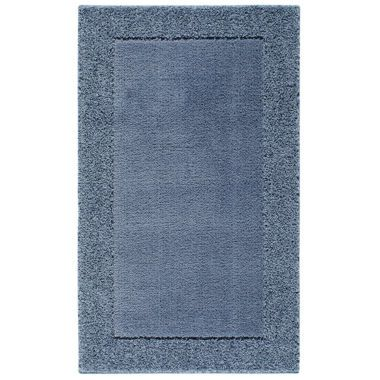 Home Shag Border Washable Rectangular Rug Home Rugs