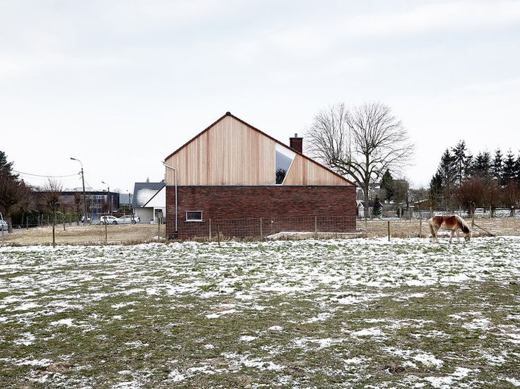 House in Burst / De Smet Vermeulen architecten