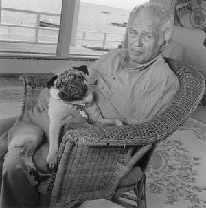 Una volta Norman Mailer ha menato un marinaio perché aveva messo in dubbio la sessualità del suo cane. Ezra Pound invece litigò con Gertrude Stein per un dispetto: pare che la scrittrice lo abbia pregato di accomodarsi su una sedia troppo fragile per la sua corporatura. da: Nemici di penna. Insulti e litigi dal mondo dei libri di Giulio Passerini - http://www.wuz.it/recensione-libro/8181/nemici-penna-giulio-passerini-intervista.html