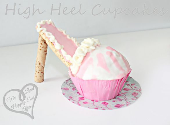 High Heel Cupcakes by We Lived Happily Ever After - fancy-edibles.com