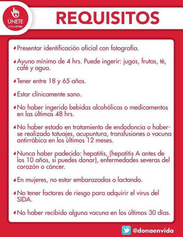 Las donaciones de sangre se recibirán hasta las 20:30 en los hospitales ABC: Santa Fe y Observatorio. Requisitos: