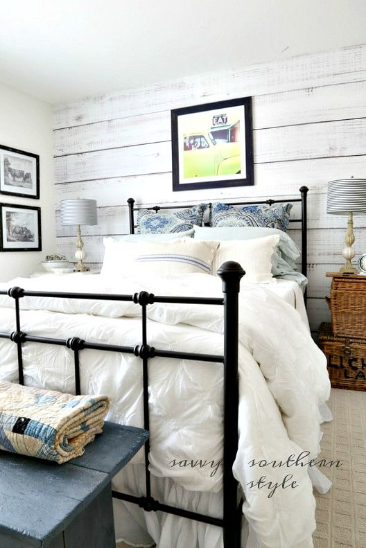 savvy southern style DIY Planked Wall Reveal http://feedproxy.google.com/~r/SavvySouthernStyle/~3/qJCP3ADFf7c/diy-planked-wall-reveal.html via bHome https://bhome.us