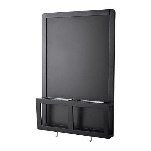 IKEA - LUNS, Quadro magnético, Perfeito para chaves, correio e telemóveis.Pode escrever mensagens com giz ou usar ímanes.
