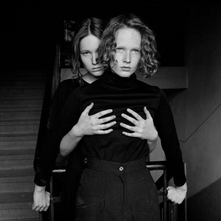 "blueblackdream: "" Stéphane Coutelle, Sisters #045-1989. Prague. """
