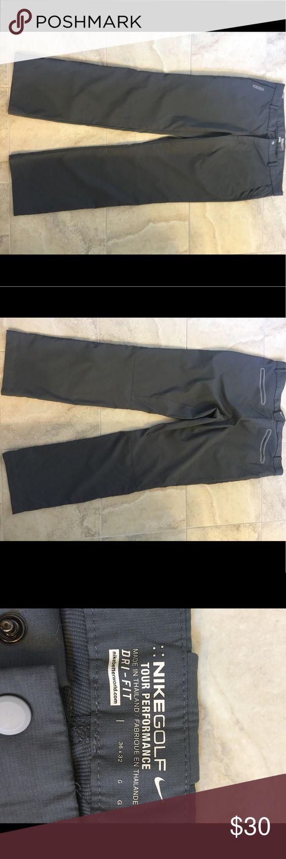 Nike Golf Men's grey 36x32 pants Grey Nike Golf men's pants. 36x32 Nike Pants Sweatpants & Joggers
