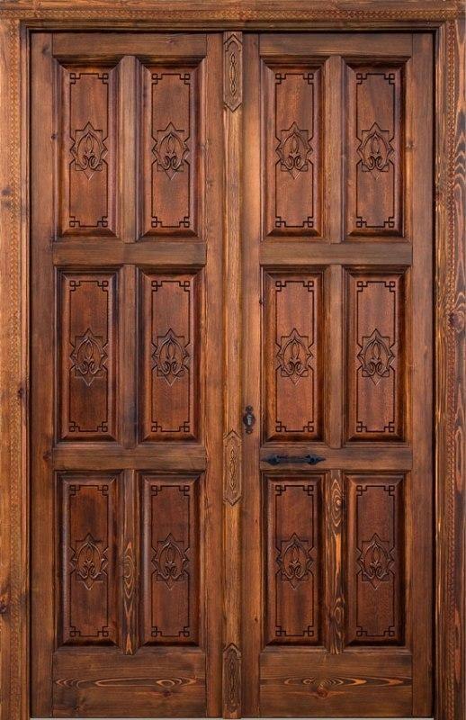 Puertas pequeas de madera great original diseno puerta - Puerta plegable madera ...