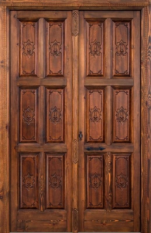 Las 25 mejores ideas sobre puertas de madera rusticas en for Puertas grandes antiguas