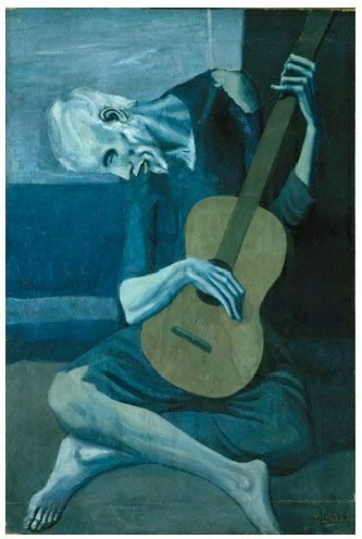 Picasso's Old Guitarist