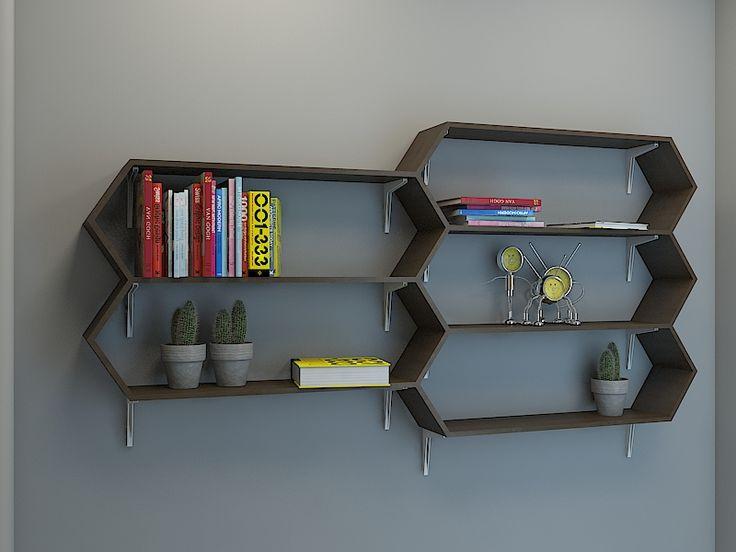 bookshelf . . rak buku dari papan