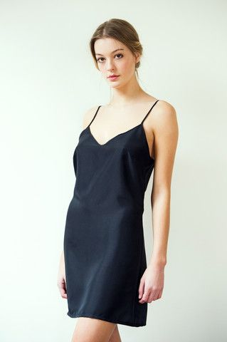 Delphine Silk Dress Slip - perfect lingerie for day and night