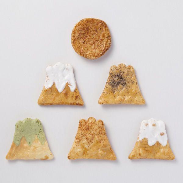 煎屋手焼き煎餅富士山初日の出入り
