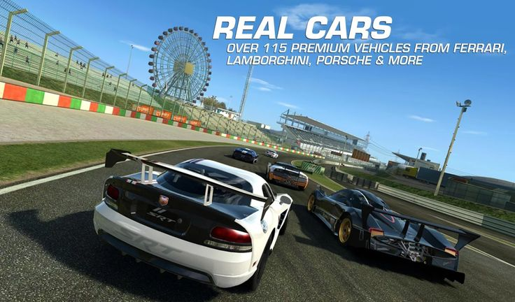 Apklio - Apk for Android: Real Racing 3 4.0.3 ROW [Mod Money] +[Mega Mod] ap...