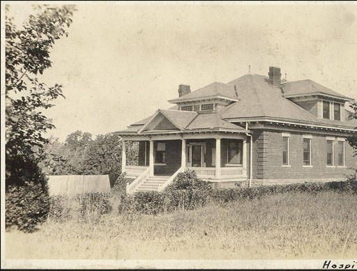 Infirmary, University of Arkansas, Fayetteville, Ark. :: Shared History: Fayetteville and the University of Arkansas
