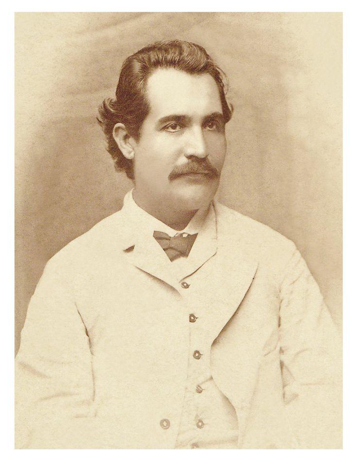 Mihai Eminescu, Iasi, 1884, foto: Nestor Heck.