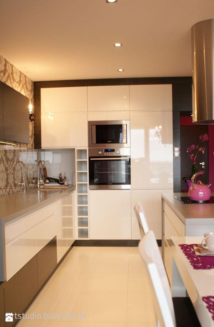 Kuchnia styl Glamour Kuchnia - zdjęcie od Art Studio Pracownia Architektury i Wnetrz - Homebook.pl