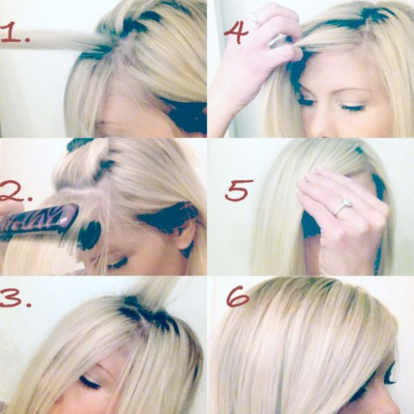 How to do the perfect side-swept bangs
