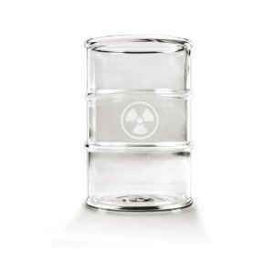 #4: Fred  Friends Polluted Glass, Set of 2: Glasses, Fred, Gift Ideas, Kitchen Dining, Drinking Glass, Polluted Glass, Friends Polluted