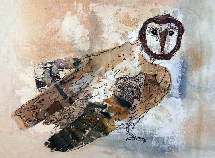 owl by Mandy Pattullo (textile artist)