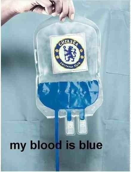 My Blue blood :) - #Chelsea  #Quiz  #The Blues