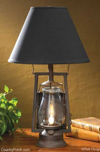 From the country porch · lumberton lamp