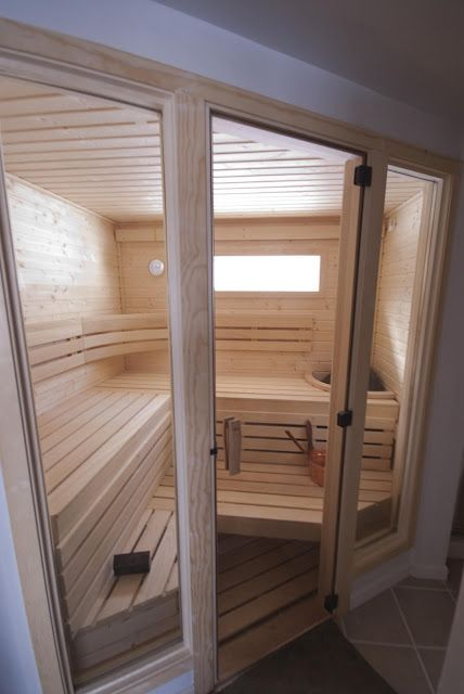 Finnleo Custom Series Sauna, North Berwick, ME purchased and designed by Oasis Hot Tub & Sauna, Nashua, NH