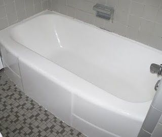 I knew there was a fix for our old bathtub without replacing it bc it is in great shape other than the dingy color!