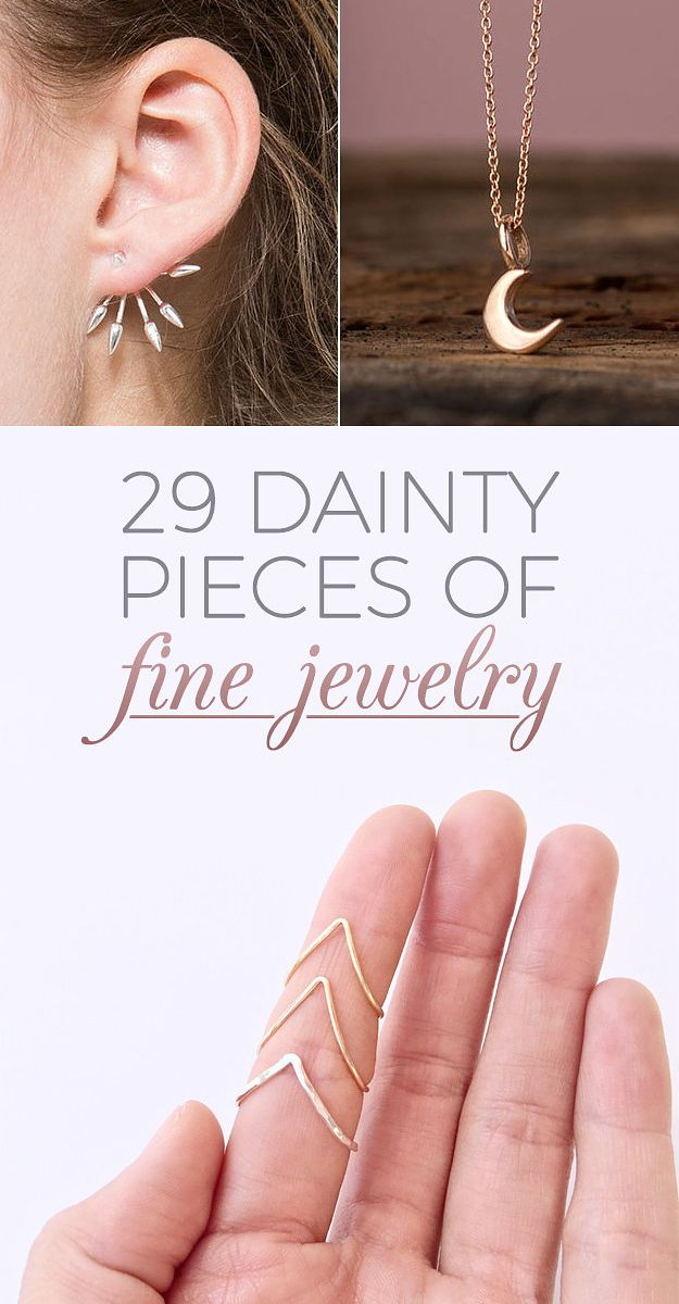 29 Dainty Pieces Of Jewelry That Are Worth The Investment