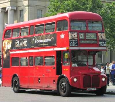The classic London bus