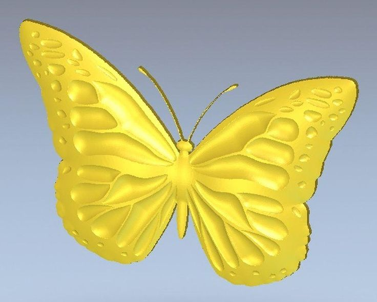 [Visit to Buy] 3d model relief  for cnc in STL file format butterfly #Advertisement