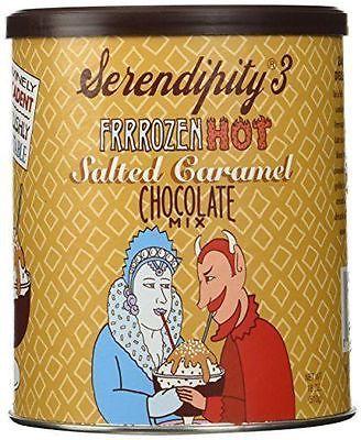 Serendipity 3 Frrrozen Hot Salt Caramel Mix 18 oz. Dessert Frozen Hot Chotolate