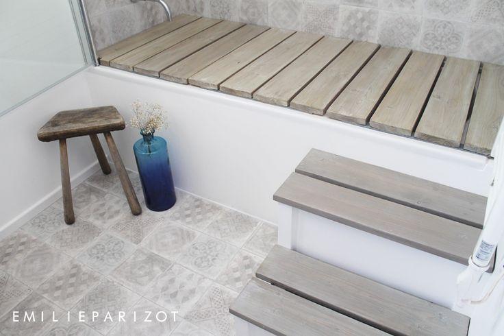 les 25 meilleures id es de la cat gorie salle de bain 5m2 sur pinterest tr s petite salle de. Black Bedroom Furniture Sets. Home Design Ideas
