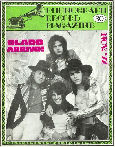 Slade on the cover Phonograph Record, 72