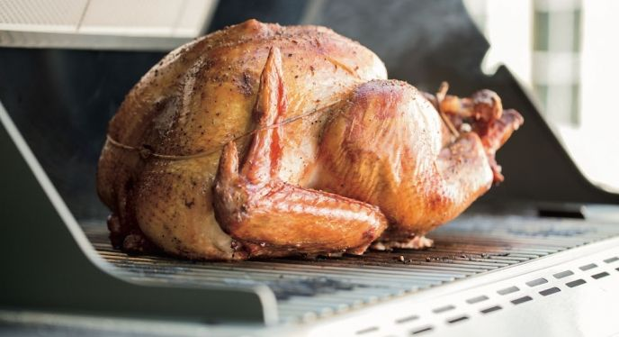 Tips from Weber's Grill Master about how to cook your holiday turkey on your gas grill