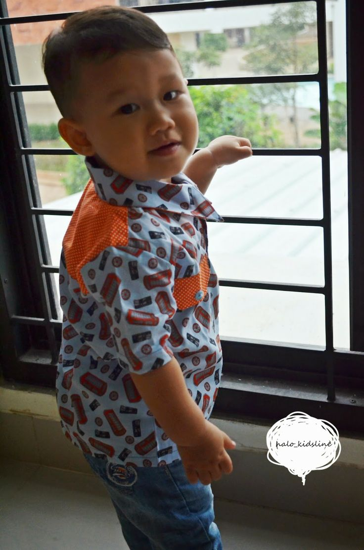 _kids fashion made by love_: kemeja..kemeja..for little boy