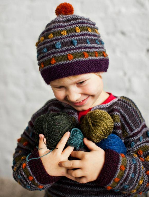 Neuleohje: Villapaita lapselle – Kotiliesi