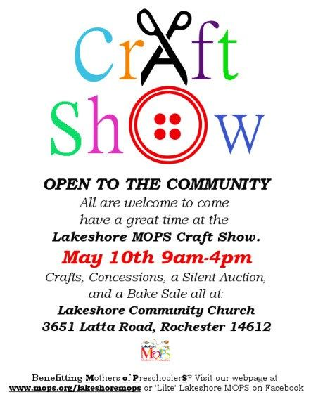 Craft Show  March Rd
