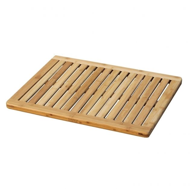 Duckboard Bathroom Ikea In 2020 Bamboo Bath Mats Bamboo Shower Mats Shower Floor Mat