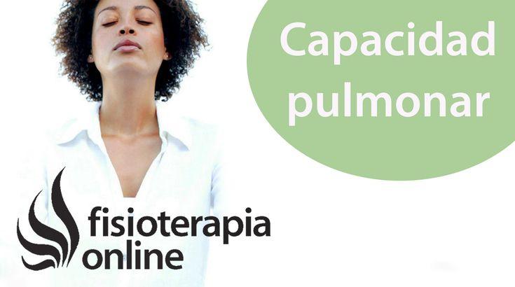 Cómo aumentar la capacidad pulmonar desde la visión de la fisioterapia...