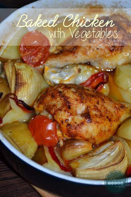Baked Chicken with Vegetables | DUKAN DIET RECIPES