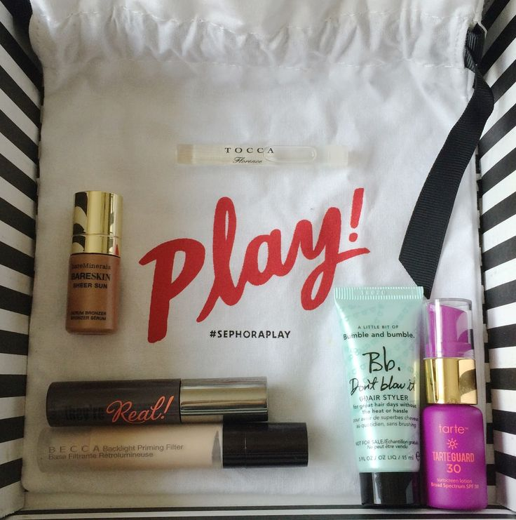 Play! by Sephora Subscription Box Review - June 2016